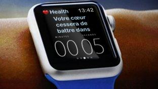 L'intrusion de l'Apple Watch dans le domaine de l'automédication