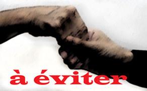 Poignée de main glissante