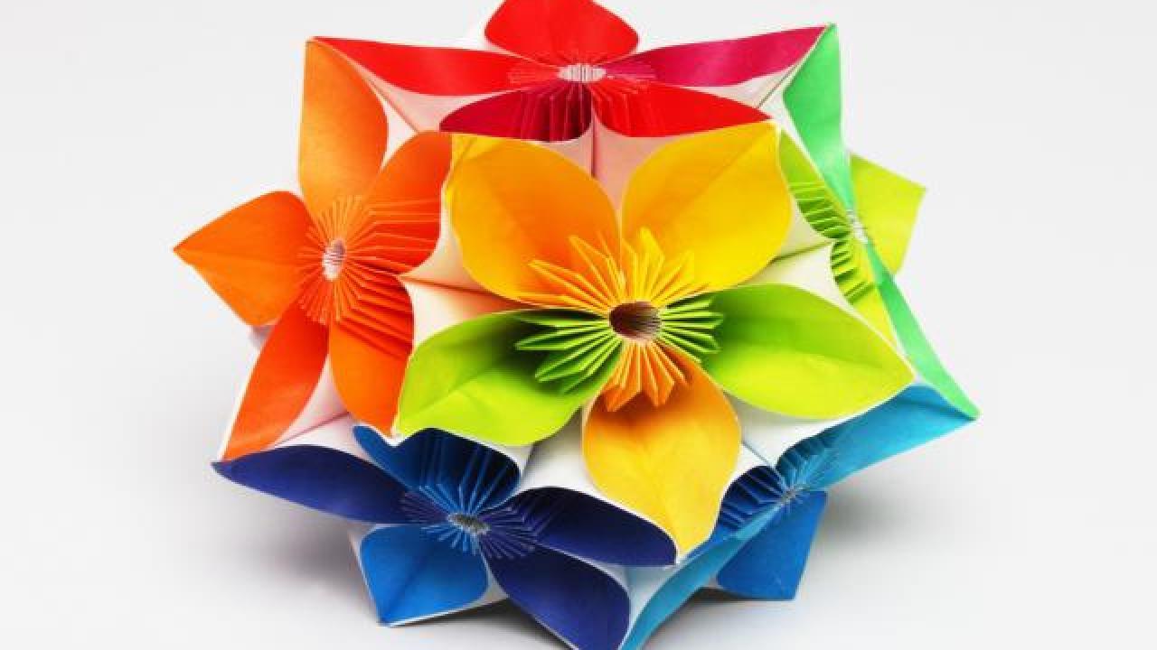 La recherche de la cr ativit g ries mag - Video de fleur en papier ...