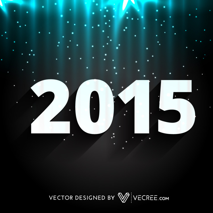 2015 Happy New Year Design Art Free Vectorby vecree. http://vecree.deviantart.com