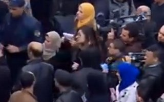 Manifestation des femmes à Alger contre la fracturation hydraulique - 24 Février 2015