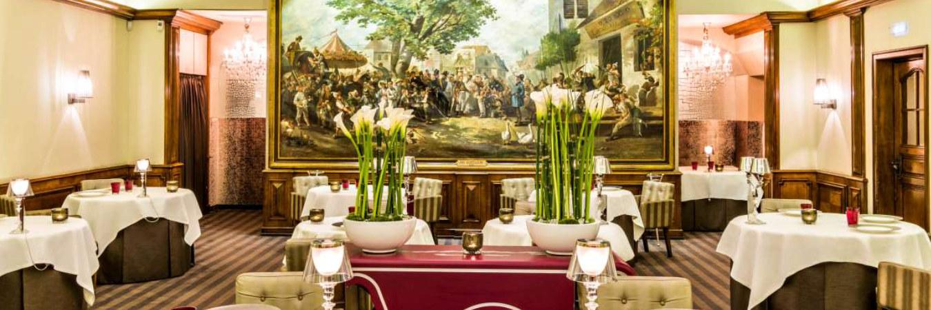 Au Crocodile, restaurant gastronomique au 10 rue de l'Outre à Strasbourg